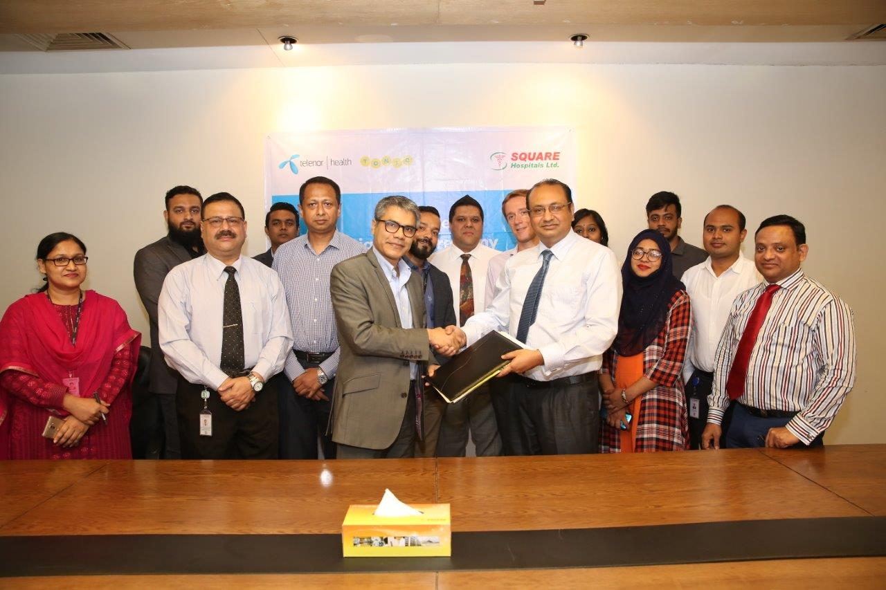Corporate Partnership between Square Hospital and Telenor Health