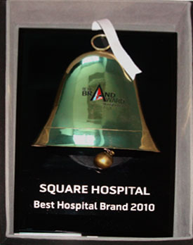 SQUARE Hospitals Ltd has been awarded & recognized again as the #1 Private Hospital of Bangladesh in the 'Best Brand Award 2010'